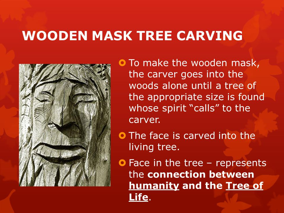 how to make a wooden mask