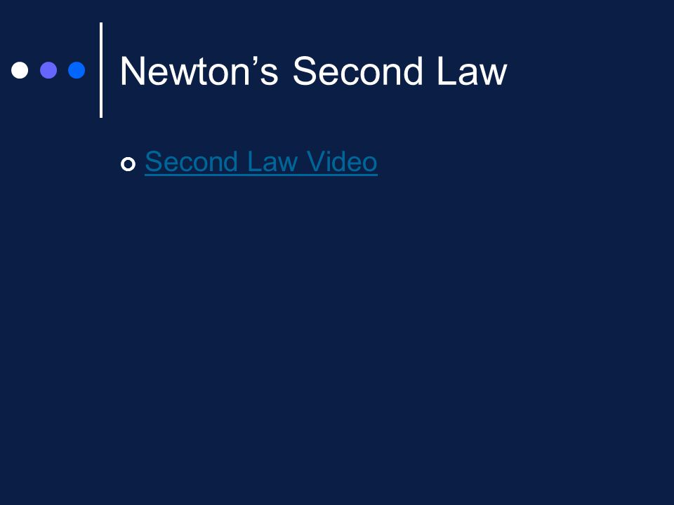 Newton's Second Law Of Motionforce And Acceleration Ppt Video. 5 Newton's Second Law Video. Worksheet. Unit V Worksheet 2 Kinematics Newton S 2nd Law At Clickcart.co