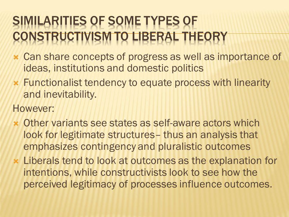 similarities between realism and liberalism