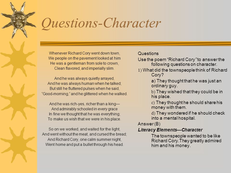 Lae 241 Literary Elements Plot Character Tone And Conflict Ppt