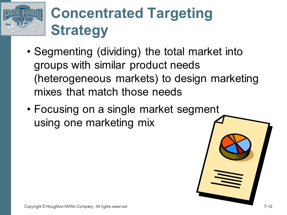 Concentrated Targeting Strategy