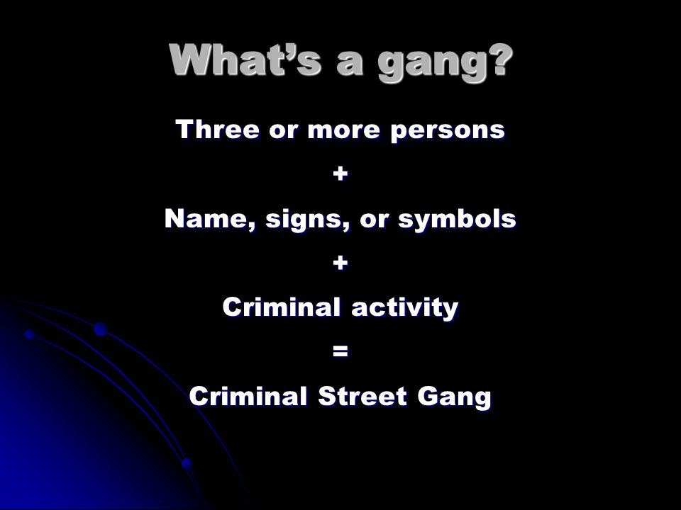 Gang Community Response Team Snohomish County Regional Gang Work