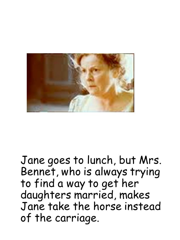 words to describe mrs bennet