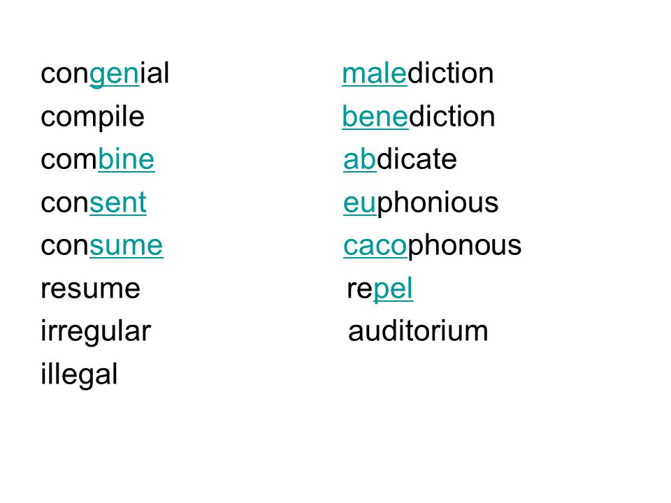prefixes meaning example co