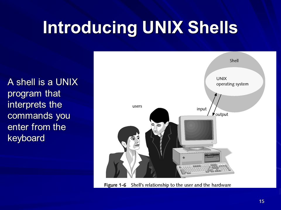 Introducing UNIX Shells
