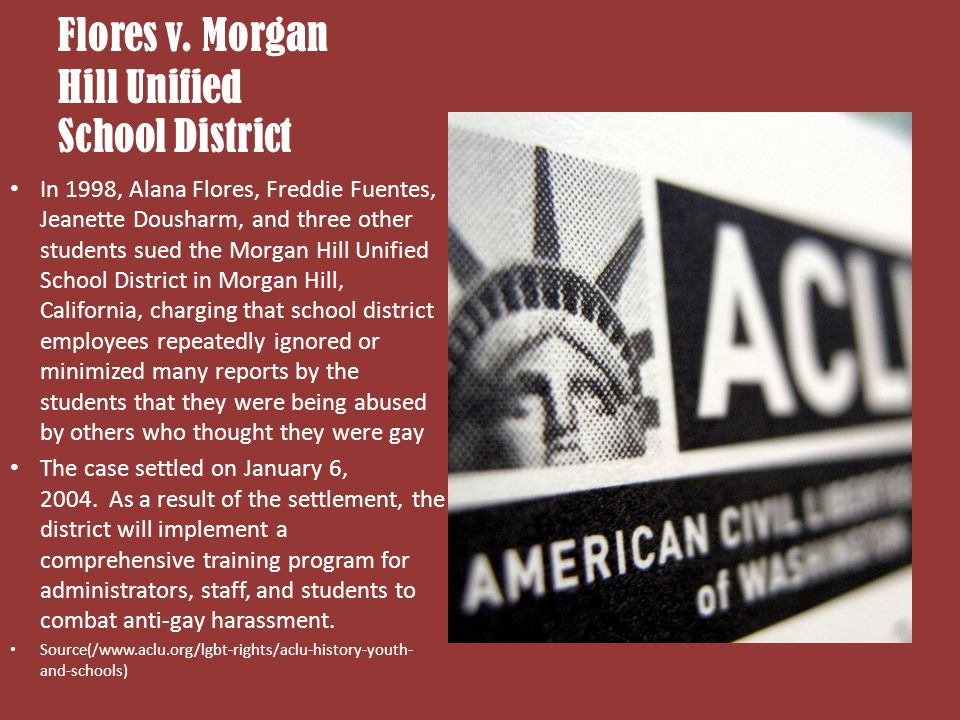 Flores v. Morgan Hill Unified School District