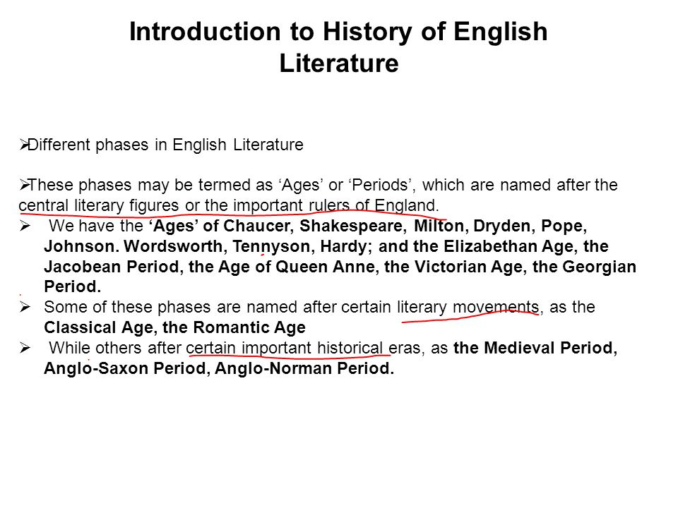A Brief History Of English Literature A Brief History Of English  A Brief History Of English Literature How To Write A Good Thesis Statement For An Essay also English Essay Papers  English Essay Structure