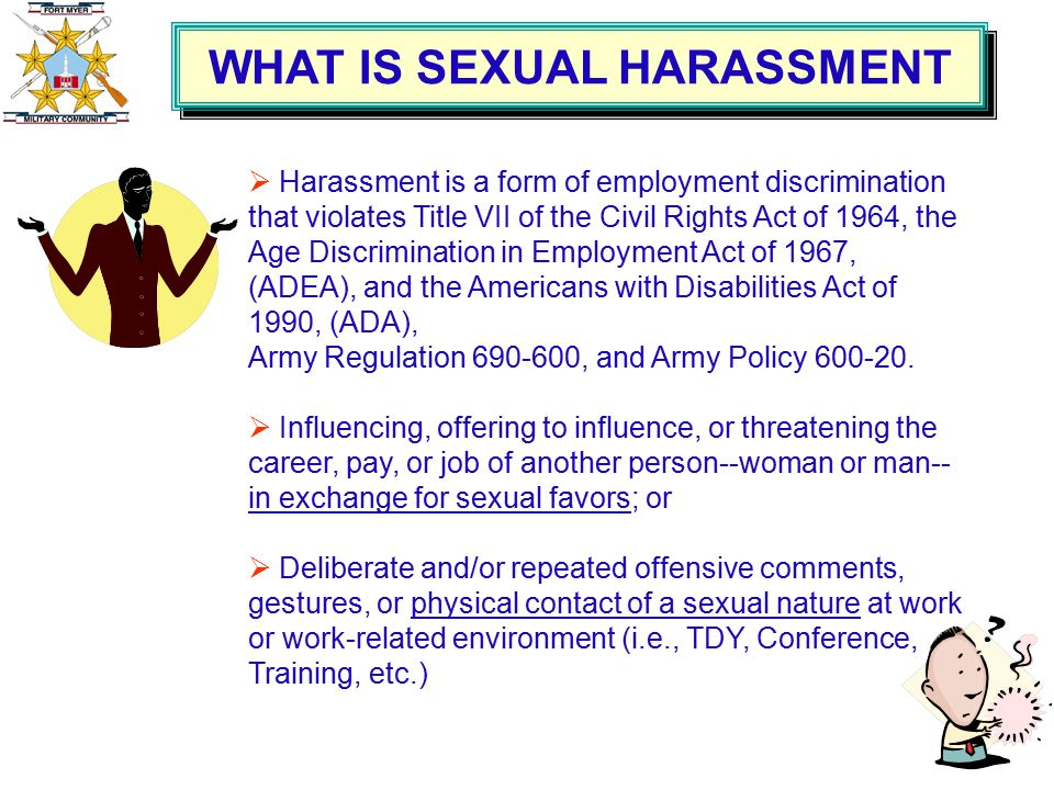 Sexual harassment law title vii