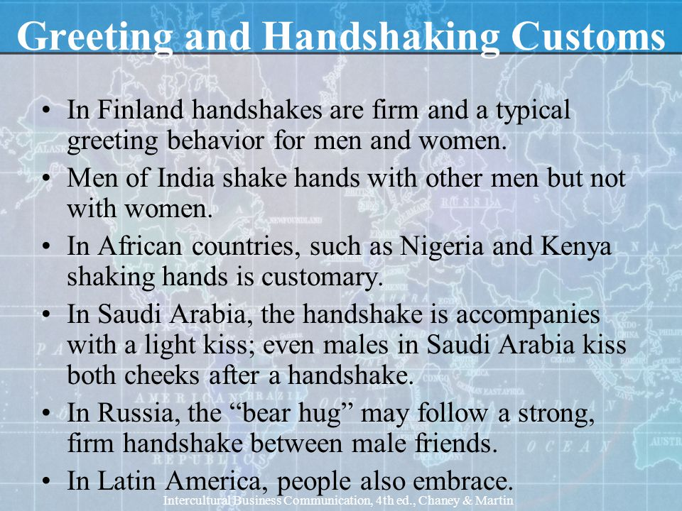 Business and social customs ppt download greeting and handshaking customs m4hsunfo