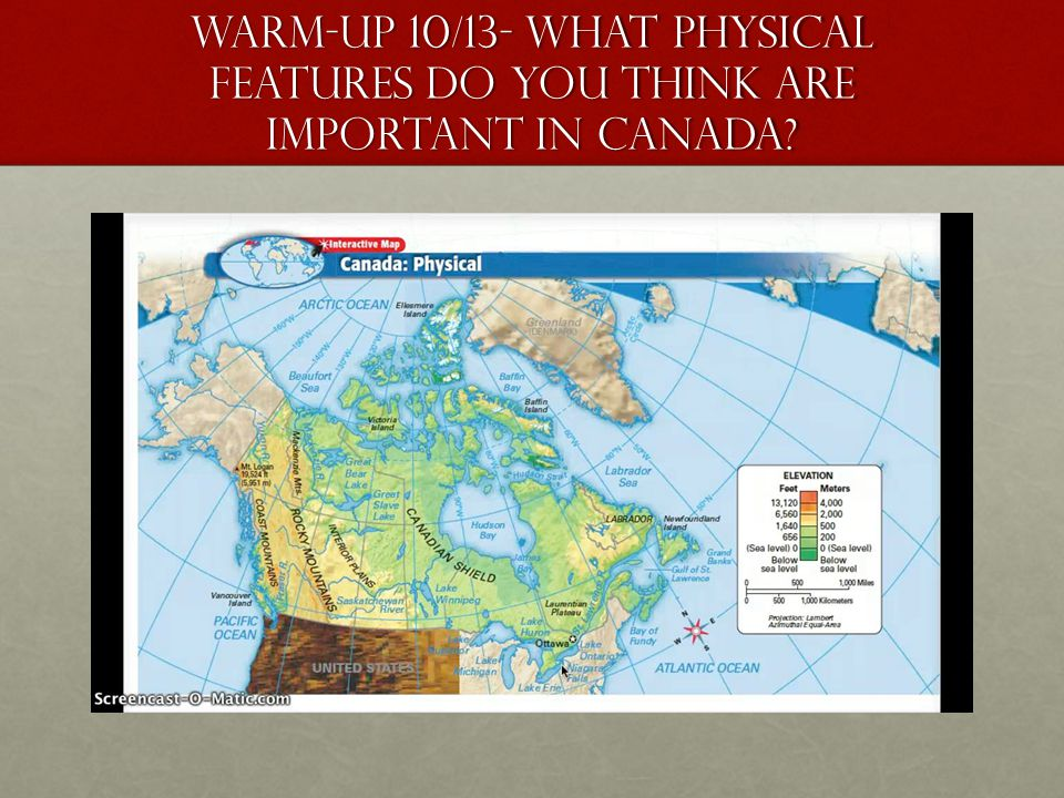 Unit 3: The United States and Canada - ppt download