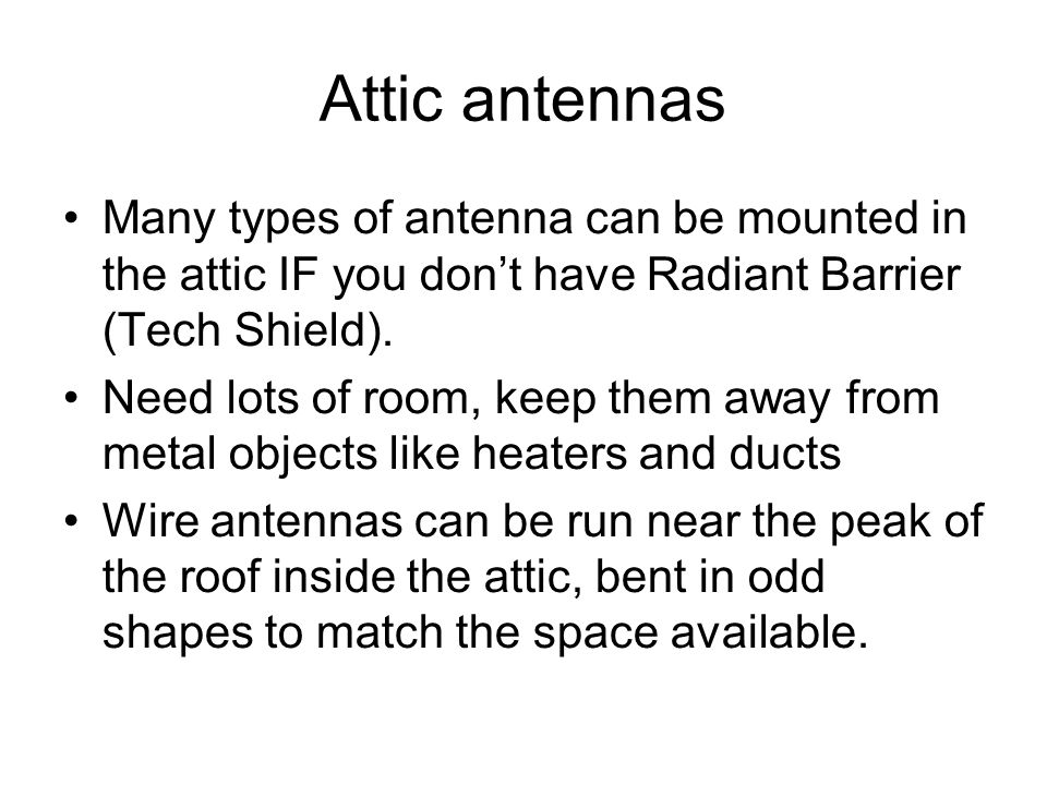 HF Antennas Especially stealth models for those in an HOA