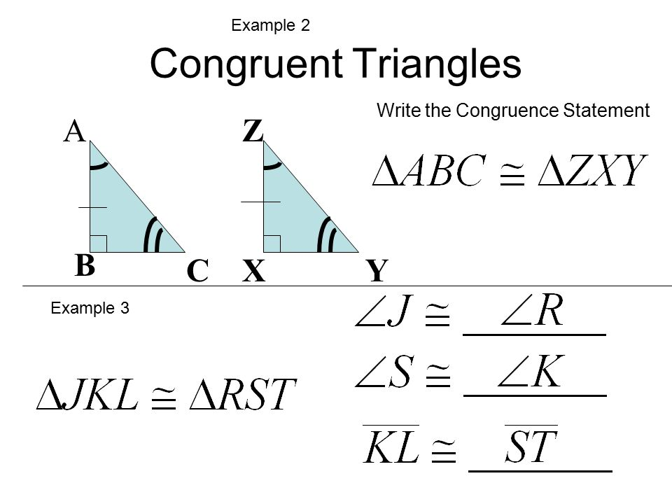 congruence statement for quadrilaterals