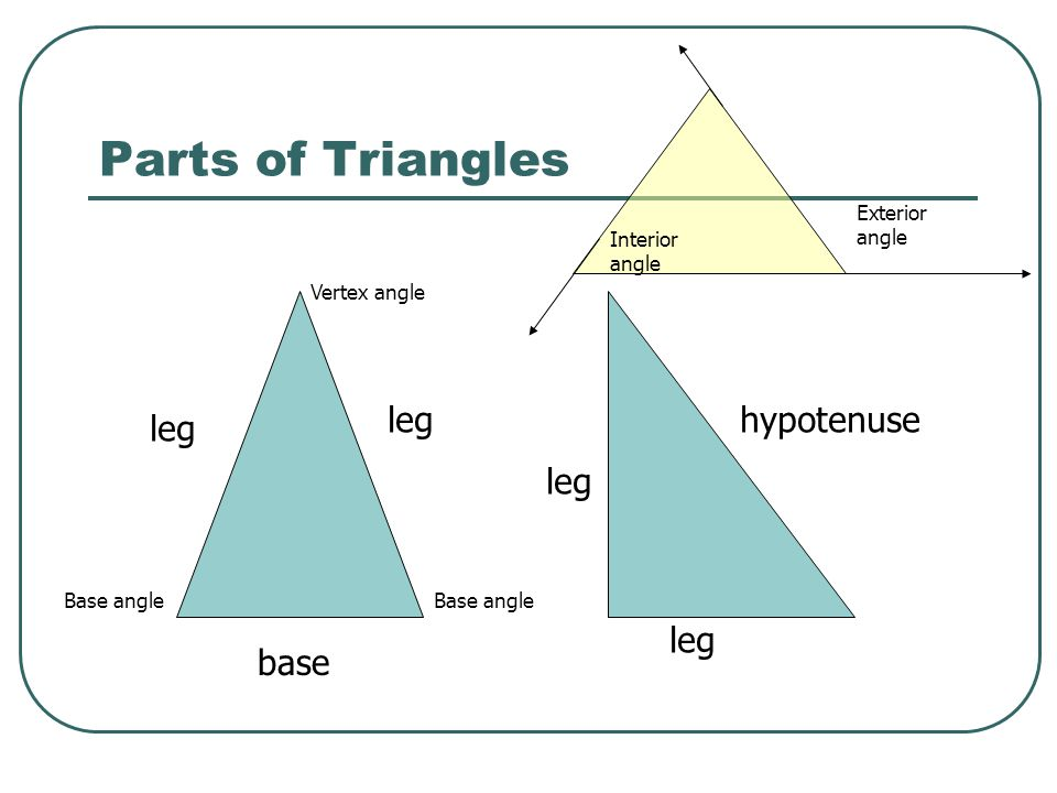 Hester Poole >> Congruent Triangles Geometry Chapter ppt video online download