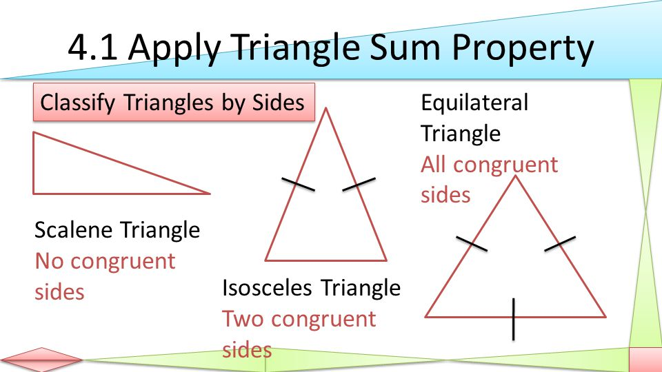 Congruent Triangles Geometry Chapter 4 Geometry Ppt Download