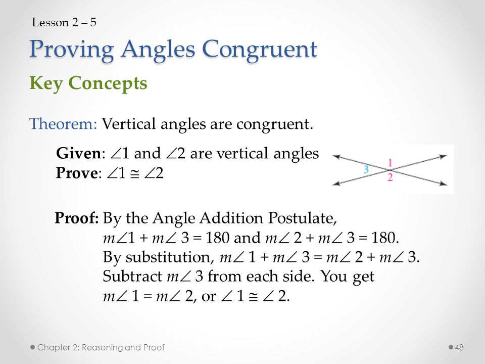 Chapter 2 Reasoning and Proof Chapter 2: Reasoning and Proof ...