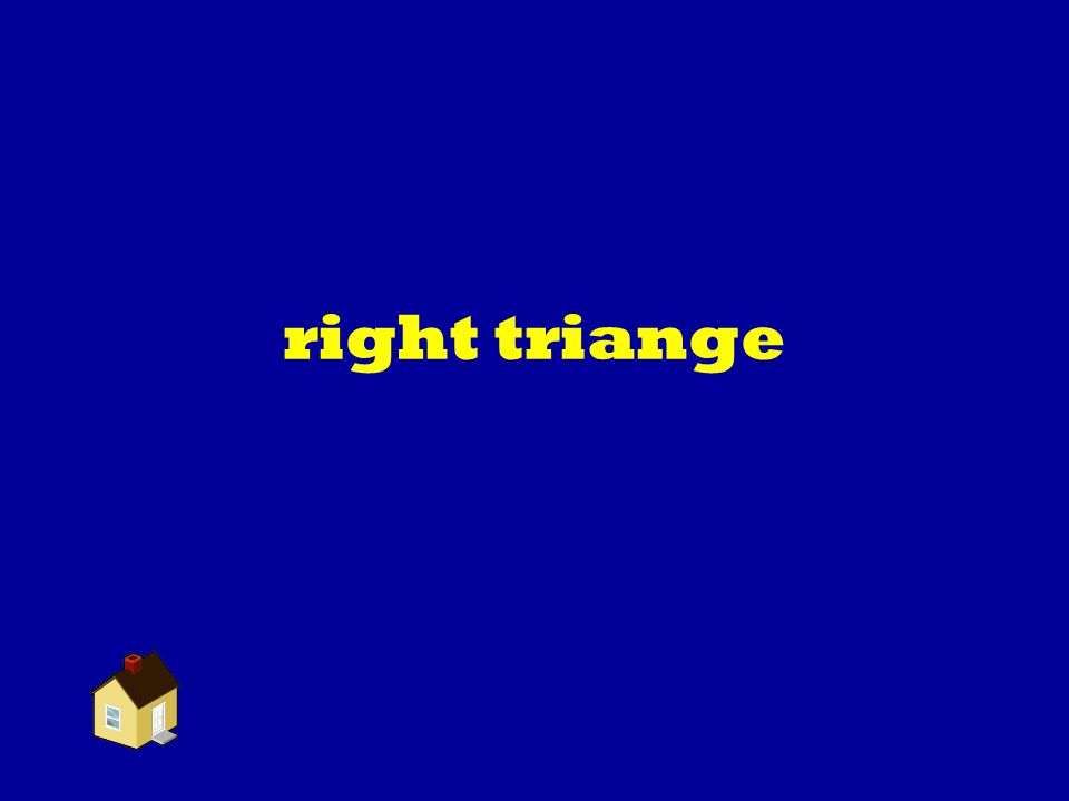 right triange