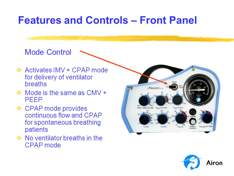 Features and Controls – Front Panel