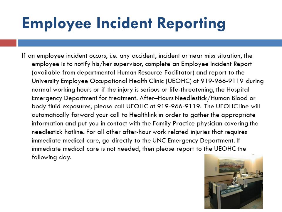Employee Incident Reporting