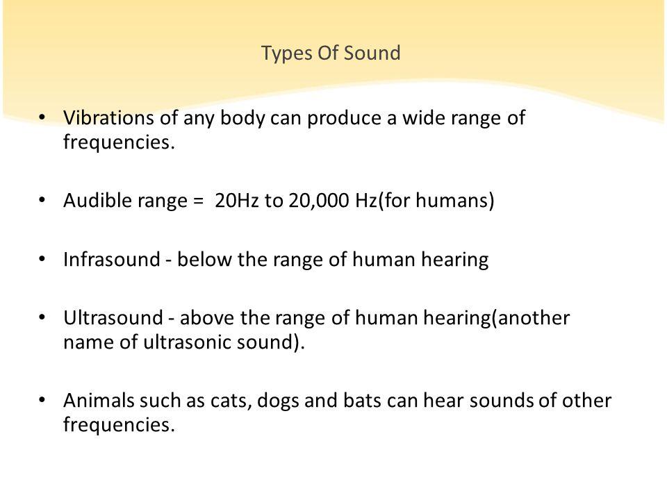 can humans hear ultrasound