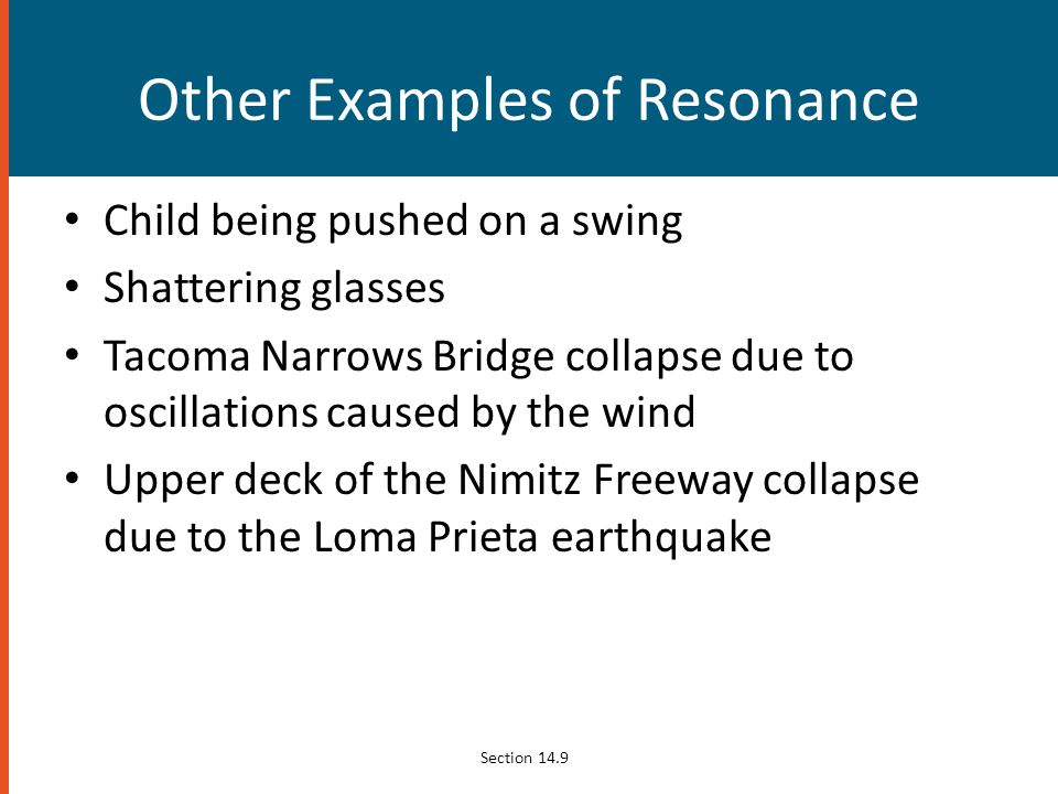 Other Examples of Resonance