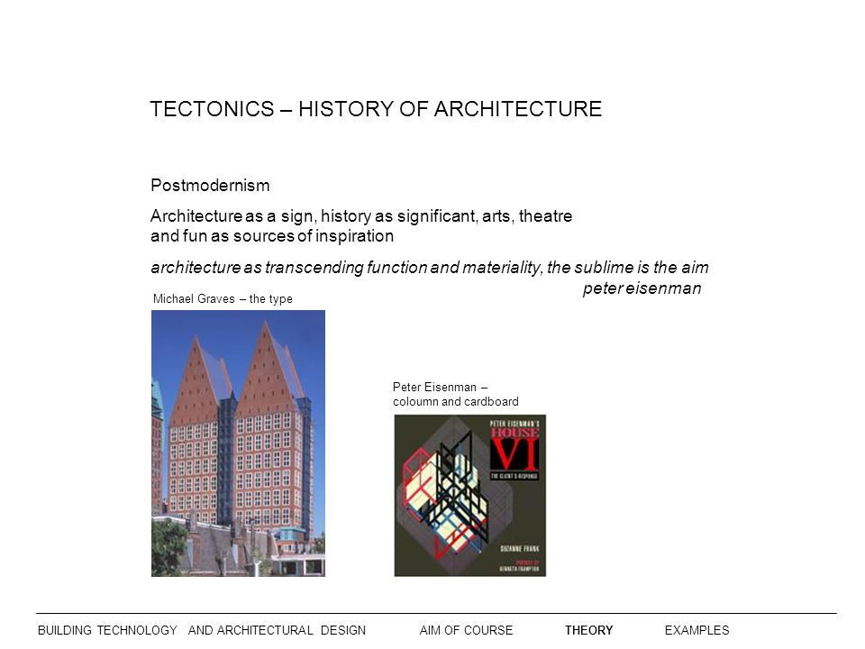 BUILDING TECHNOLOGY AND ARCHITECTURAL DESIGN  - ppt video online