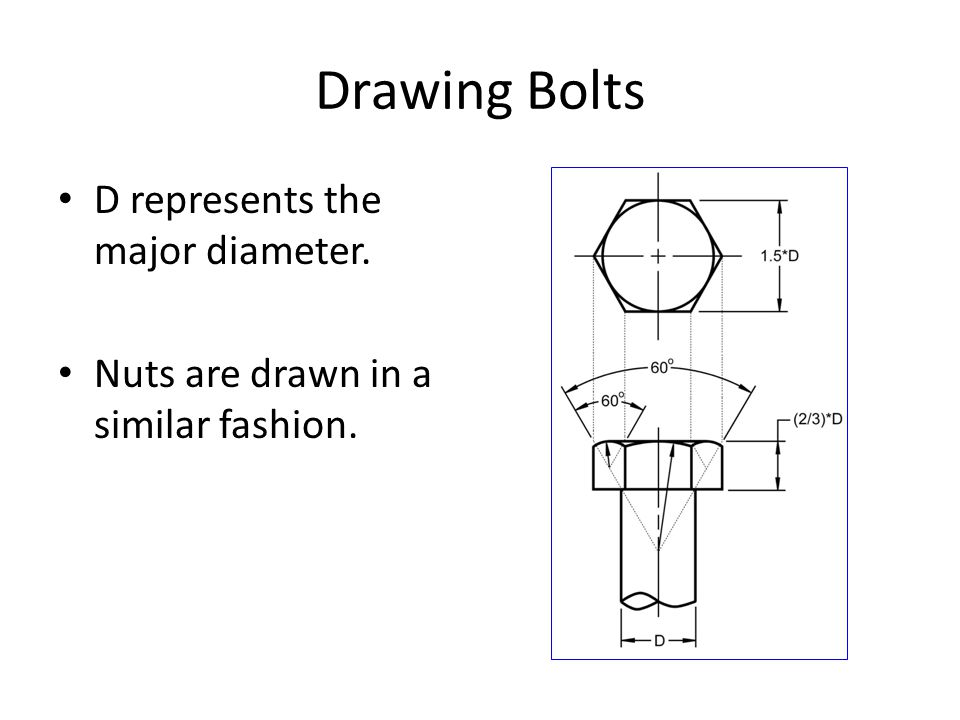 Threads and Fasteners  - ppt video online download