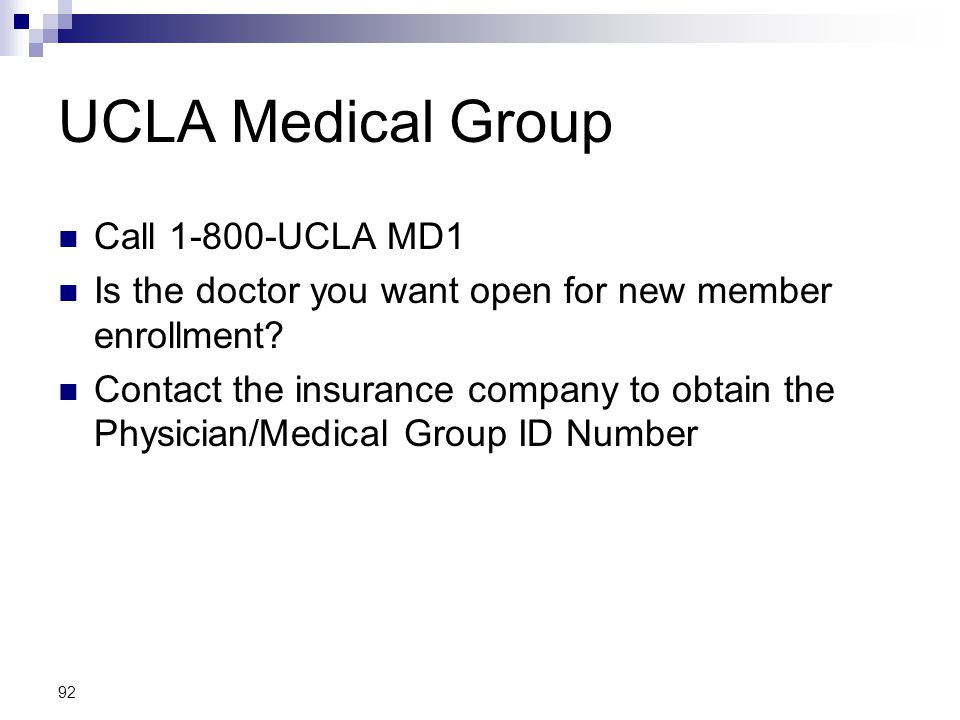 UCLA Health Sciences Overview - ppt download