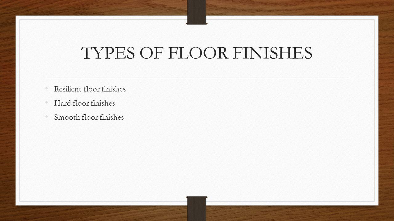 Floor Finishes Kibe Sarah Warima Kimani