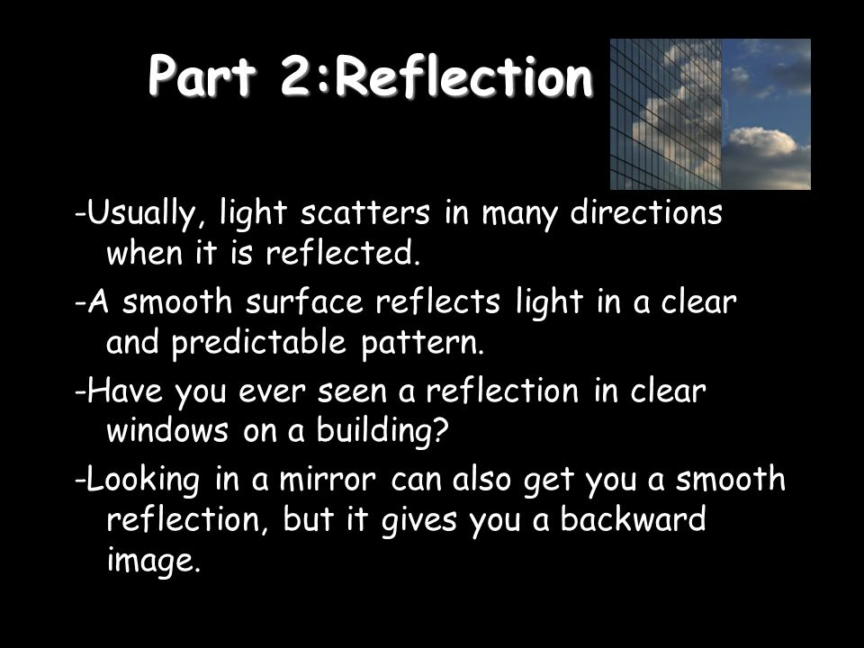 Part 2:Reflection