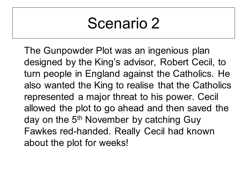 Was the gunpowder plot a government conspiracy? - ppt video online ...
