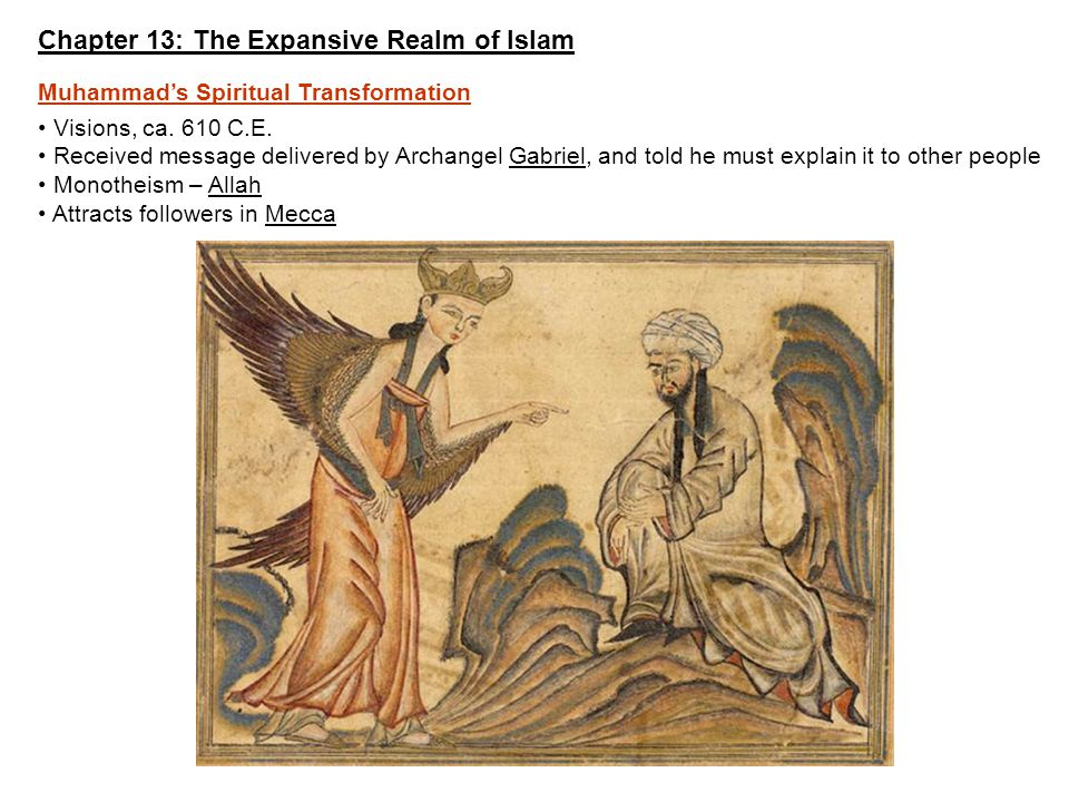 Chapter 13: The Expansive Realm of Islam - ppt video online