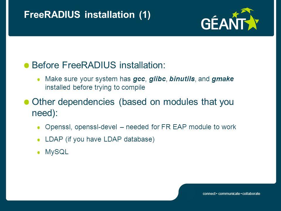 FreeRADIUS configuration - ppt download