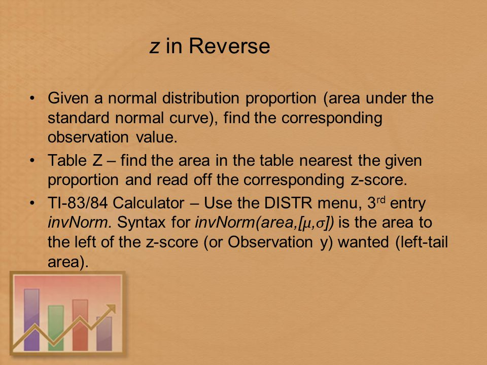 The Standard Deviation as a Ruler and the Normal Model - ppt
