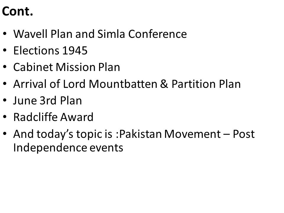 wavell plan 1945