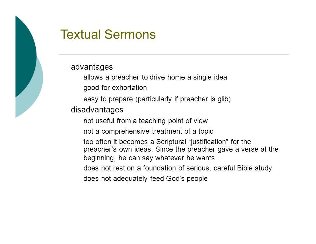 Short Sermon Outlines