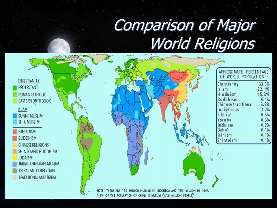 the lack of potential in some religions in becoming a global religion Every religion has its stories almost all religions have stories explaining where the universe came in 1933, some prominent atheist philosophers realised the effects the lack of a belief in a god would religion explains the world in some fashion atheists are quite convinced based on their belief system.
