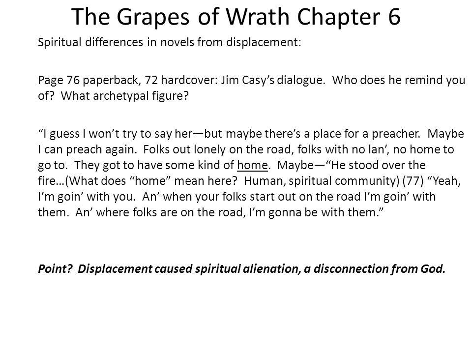 jim casey grapes of wrath quotes