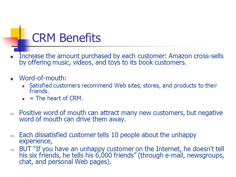 Benefits Musical Toys : Chapter customer relationship management ppt download