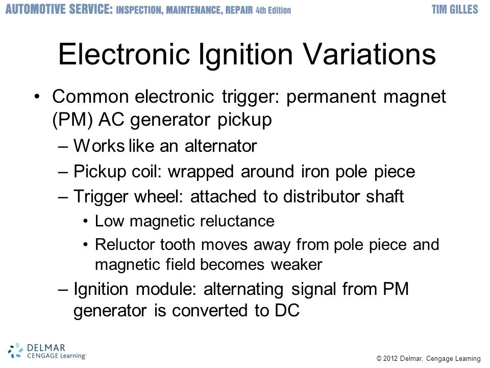 Electronic Ignition Variations