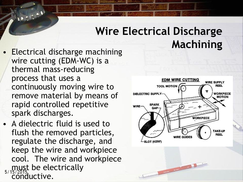 Wire edm ppt