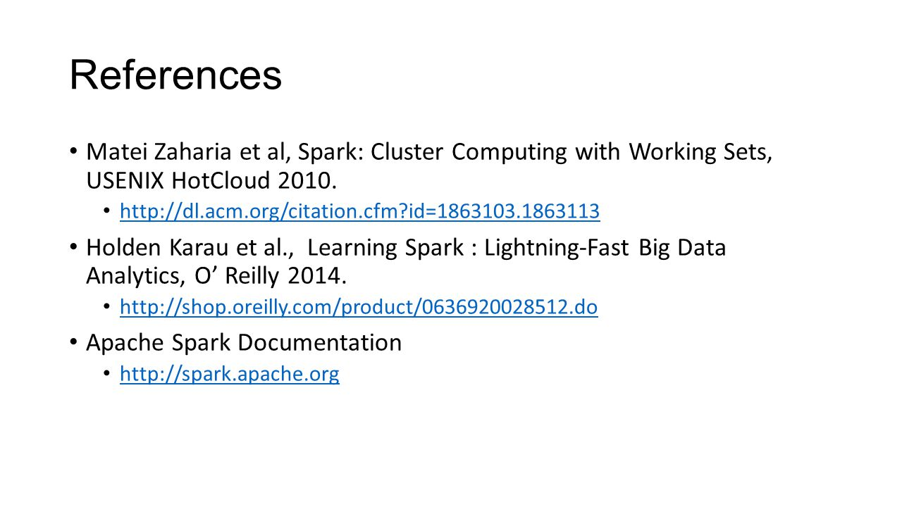 The Hadoop Stack, Part 3 Introduction to Spark - ppt download