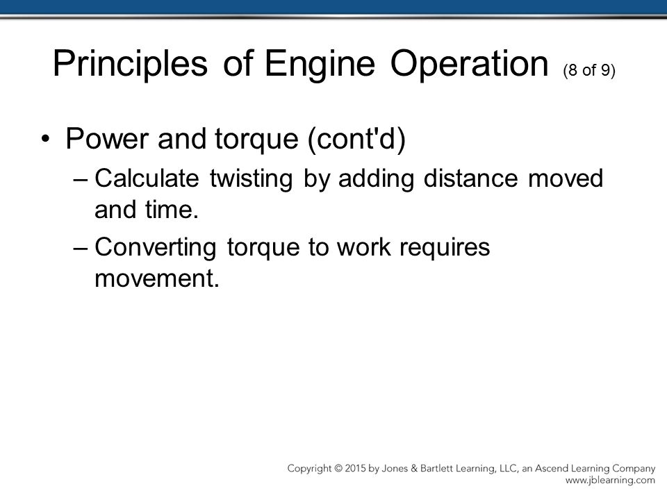 Principles of Engine Operation (8 of 9)