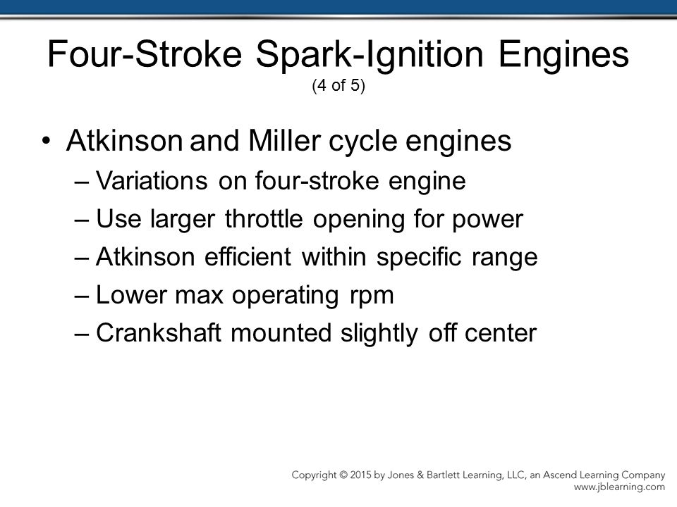 Four-Stroke Spark-Ignition Engines (4 of 5)