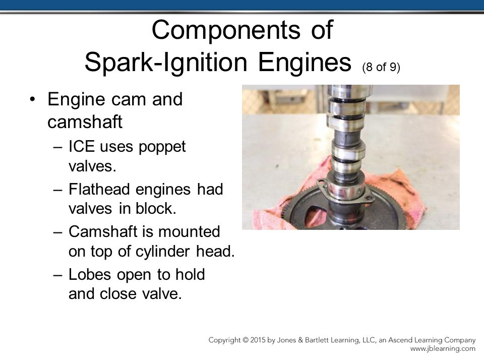Components of Spark-Ignition Engines (8 of 9)