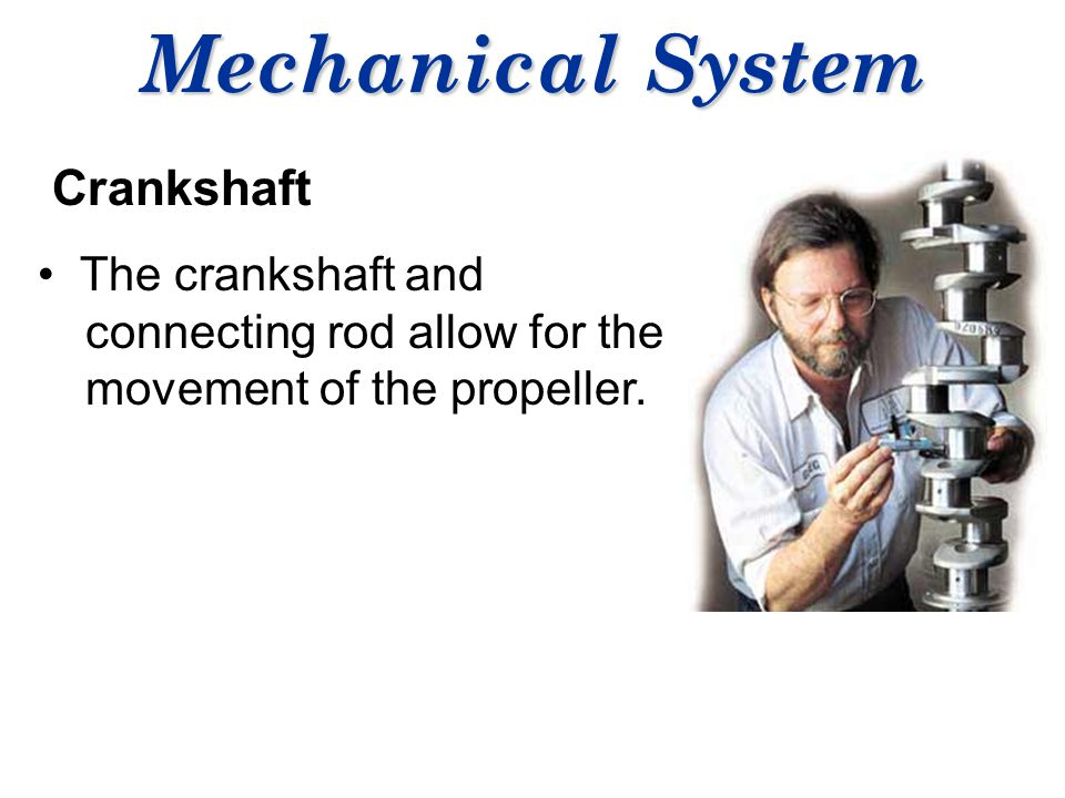 Mechanical System Crankshaft