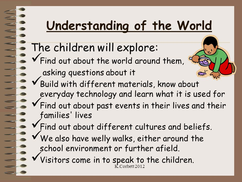 Understanding of the World