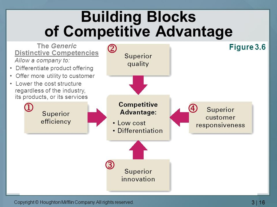 Building Blocks of Competitive Advantage