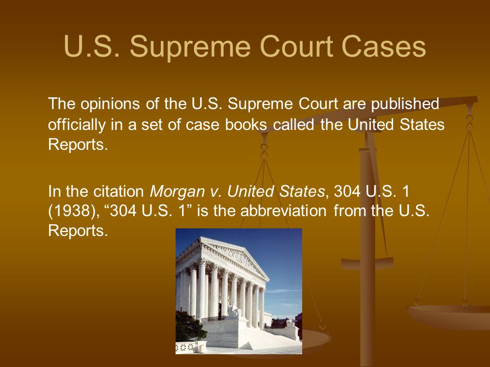 Basic Bluebook Citation for Cases - ppt download