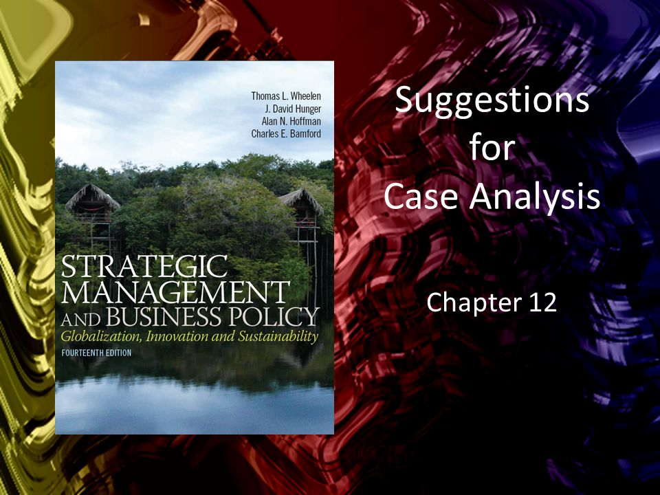 j b case analysis The case method of analysis is a learning tool in which students and instructors participate in direct discussion of case studies, as opposed to the lecture method, where the instructor speaks and students listen and take notes in the case method, students teach themselves, with the instructor being an.