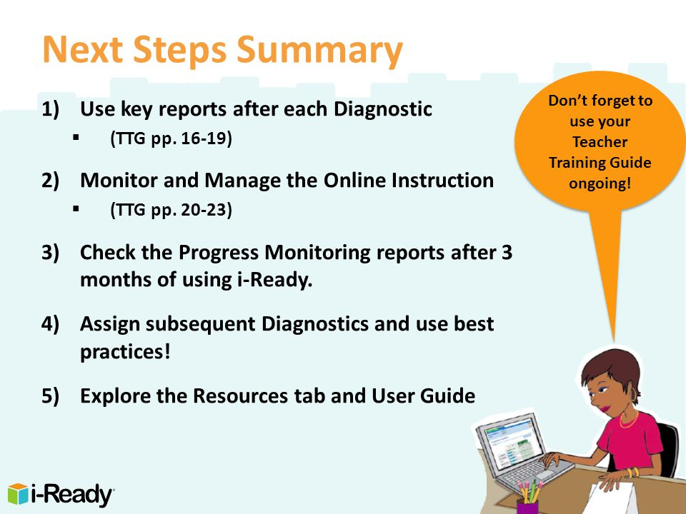 i-Ready Understanding Data (Initial Diagnostic) - Onsite